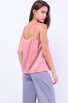 Spag Top (Dusty Pink) S$ 27.00
