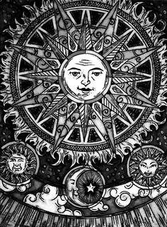 Sun Print. #sun #moon #art http://buzznet.com/~g93d5fa