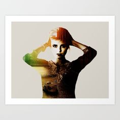 #society6 #art #print #canvas #woman #model #doubleexposure #colors #boat #architecture #decor #decoration #shop #shopping