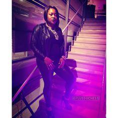#allblack #faux #fauxleather #sleek #TallGirlsBeLike #StyleBlogger #Glamazon