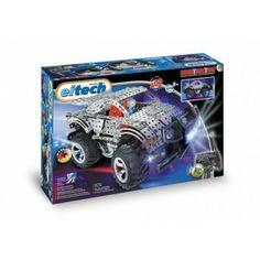 Eitech C29 - Mega Jeep z Klocków Konstrukcyjnych z Lampami LED dla Dzieci od lat 8