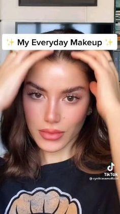 Edgy Makeup, Skin Makeup, No Makeup, Makeup Tips, Beauty Makeup, Simple Makeup, Natural Makeup Looks, Natural Everyday Makeup, Maquillage On Fleek