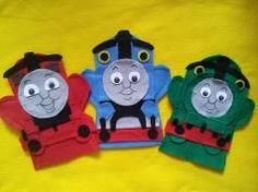 Thomas and Friends Felt hand puppets