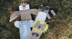 Put on your own animal puppet show at your Wild Kratts party with these paper bag animal tutorials. Find more Wild Kratts party ideas on PBS Parents.