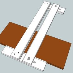 Here's a special jig made specifically for the purpose of creating dados with your router. The best part is, you can get exact-width dados EVERY TIME! This plan provides a link to the video segment on www.thewoodwhisperer.com. Accompanying the video is the jig model and detailed dimensions.