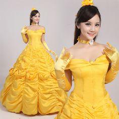 adulto belle princesa de belleza traje y el vestuario bestia mujeres belle cosplay fantasa disfraces de