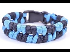 "Paracord Bracelet ""Barbed Wire"" Design - How To Video - BoredParacord - YouTube"