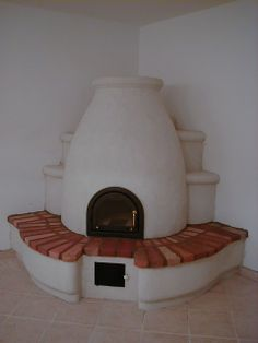 búbos kemence - Google Search Home Fireplace, Fireplaces, Stair Shelves, Brick Masonry, Magic House, Unique Buildings, Earth Homes, Rocket Stoves, Earthship