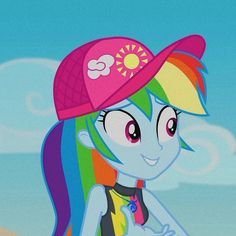 Unicorns, My Little Pony Pictures, Rainbow Dash, Equestria Girls, Matching Icons, Rarity, Mlp, Harley Quinn, Cartoon