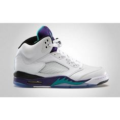 6cae5a69b9280 Jordan Shoes Retro 5 Grapes NIKE AIR JORDAN 5 RETRO MENS