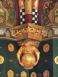 William Burges - Cardiff Castle. From the Arts & Crafts Home