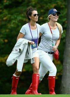 Golf Tips: Golf Clubs: Golf Gifts: Golf Swing Golf Ladies Golf Fashion Golf Rules & Etiquettes Golf Courses: Golf School: Red Rain Boots, Wellies Rain Boots, Welly Boots, Golf Attire, Golf Outfit, Rain Gear, Wife And Girlfriend, Golf Fashion, Fashion Men
