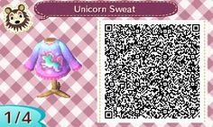 Angie's Animal Crossing Blog - As requested I made Unicorn Sweaters! I made one...