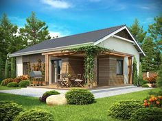 Casa Tiny House Cabin, Loft House, My Home Design, House Design, Bungalow Porch, Hacienda Homes, House Viewing, Spanish House, Classic House