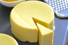 <p>Sliceable, grate-able and oh so enjoyable. This is about to become your new favorite non-dairy cheese.</p>