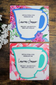 DIY Bridal Shower Te