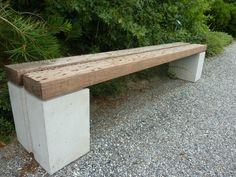 another bench at berkshire botanical garden, same designer