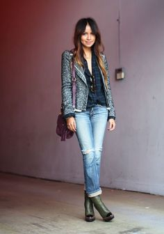 sincerely jules denim jacket - Google Search