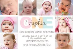 BOLD BIRTHDAY First Birthday Party Event by PaperHeartCompany, $15.00