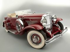 1929 Duesenburg Model J roadster