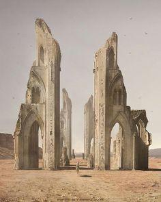sci fi architecture
