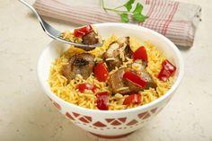 Arroz al estilo murciano, receta tan simple como sabrosa. ¡No te la pierdas, darás en el clavo! Descúbrela en http://www.gallinablanca.es/receta/arroz-al-estilo-murciano/#.U0Jutq6bvcs