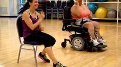 wheelchair zumba - YouTube