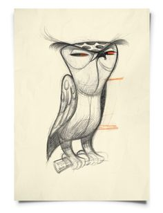 Bad-ass owl