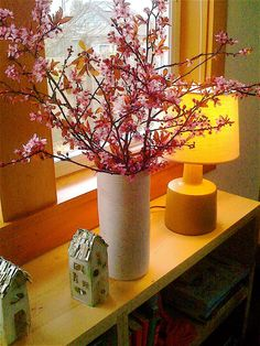 quince tree branches in bloom - Google Search