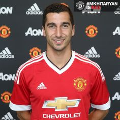 Henrikh Mkhitarayan signs for Manchester United - Official Manchester United Website