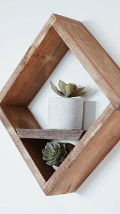 Box Shelf / Square Shelf / Diamond shelf Wall decor - Home Professional Decoration