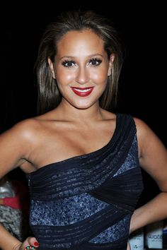 The sophisticated Adrienne Bailon