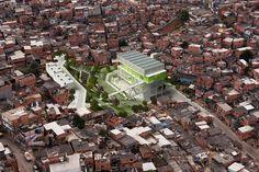 Urban-Think Tank Awarded Silver Holcim Award For Colorful Community Center in São Paulo
