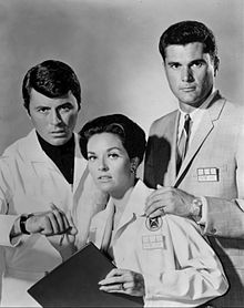 James Darren starred in the sci-fi television series The Time along with co-star Robert Colbert, and Lee Meriwether; The Time Tunnel lasted one season Lee Meriwether, 1960s Tv Shows, Old Tv Shows, Robert Duvall, Science Fiction, Fiction Movies, Photo Vintage, Vintage Tv, The Time Tunnel