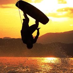 Oh yes please! How I miss wake boarding!