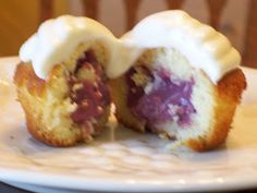 Blackberry-Lime Cupcakes