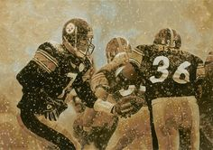 Ben Roethlisberger and Jerome Bettis - Pittsburgh Steelers