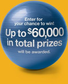 U.S. Bank Are You Financially Fit? promotion.  $60,000 in total prizes to be given away.  Start training now.