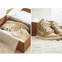 Glitter sparkle shoes sneakers