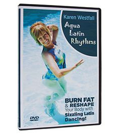 Water Works Aqua Latin Rhythms DVD at SwimOutlet.com