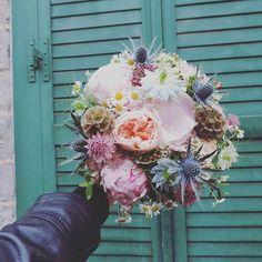 .. Marie & Yoan { 4 . 6 . 2016 }  Round 1 la suite en septembre   Le deuxième bouquet de mariée du week-end   #fleuriste #lefleuriste #florist #igerslille #lille