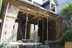 Pergola, Outdoor Structures, Bricks, Normandie, Patio, Outdoor Pergola