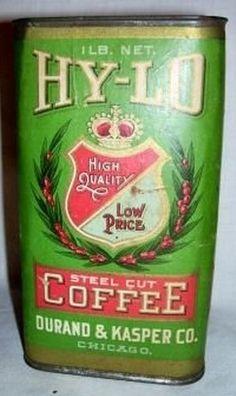 Hy-Lo Coffee Tin