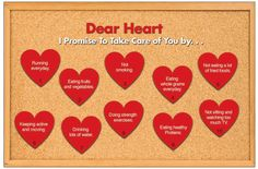valentine heart healthy messages - Google Search