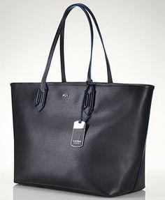 Lauren Ralph Lauren Handbag, Tate Classic Tote