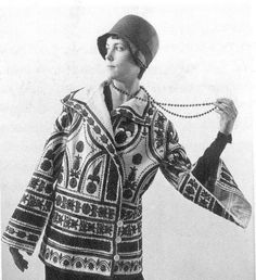 Jacket by Paul Poiret, 1925.
