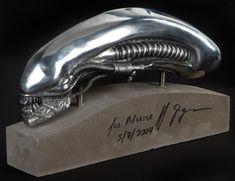 Invaluable is the world's largest marketplace for art, antiques, and collectibles. Predator Helmet, Alien Vs Predator, Wayland Yutani, Hr Giger Alien, Alien Photos, Giger Art, Non Plus Ultra, Alien Art, Movies