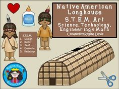 $ Native American Longhouse S.T.E.M. Science, Technology, Engineering, and Math. Enjoy! Regina Davis aka Queen Chaos at Fairy Tales And Fiction By 2.
