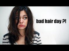 3 FRISUREN für BAD HAIR DAYS - YouTube