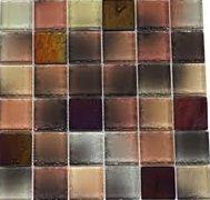 2x2 tile, a little brown, and a little dark!